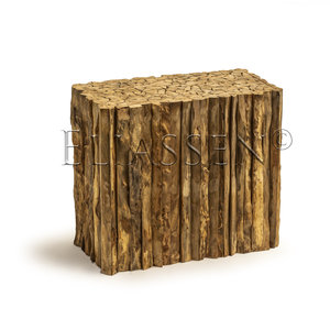 Pedestal woody wood 90x45x80cm