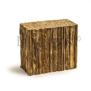 Sockel holziges Holz 90x45x80cm
