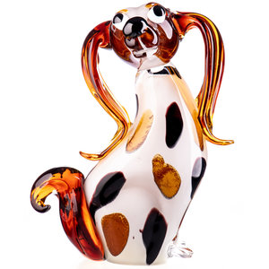 Glass object Large dog