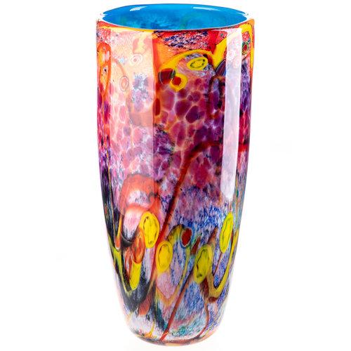 Glass vase Carnival 45cm