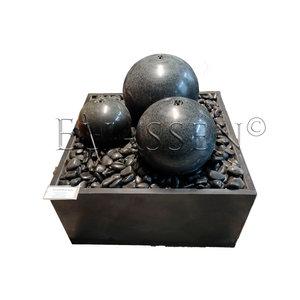 Fontein graniet Sette met grote bollen