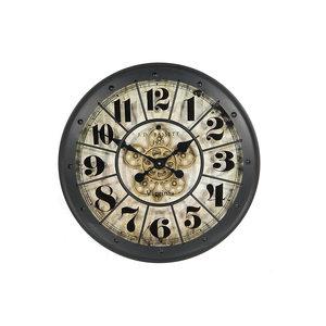 Uhr Basset schwarz 60cm
