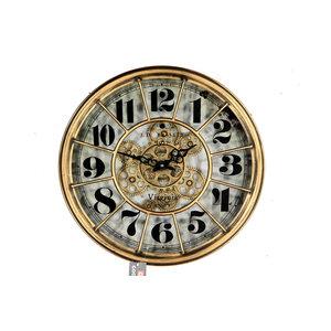 Clock Basset gold 46cm