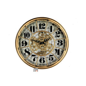 Uhr Basset Gold 46cm