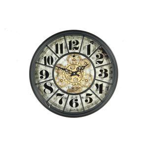 Uhr Basset schwarz 46cm