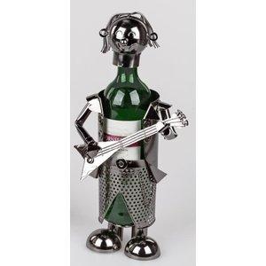 Wine bottle holder Bass Gitarist 1