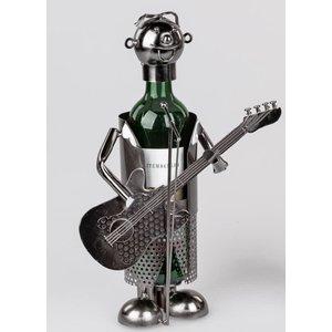 Wijnfleshouder Gitarist 2