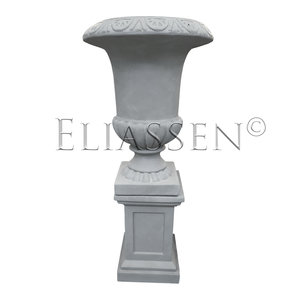 Vase on column Gray classic 133cm