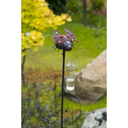 Tuinsteker regenmeter Lieveheersbeestje AKTIE