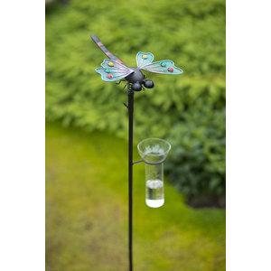 Tuinsteker regenmeter Libelle AKTIE