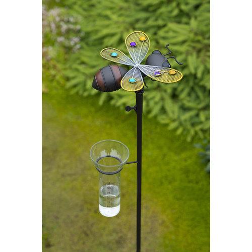 Tuinsteker regenmeter Bij  AKTIE