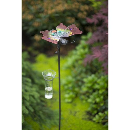 Tuinsteker regenmeter Vlinder AKTIE