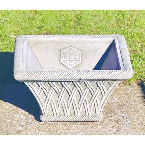Dragonstone Pot Square Basket