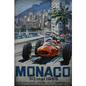 Metal 3d painting Monaco 1965
