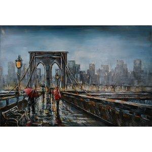 Metall 3d Malerei Brücke