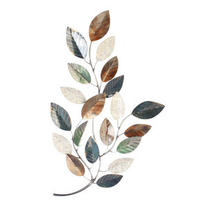 Wanddeco Tak vol bladeren