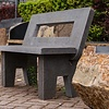 Stone garden benches