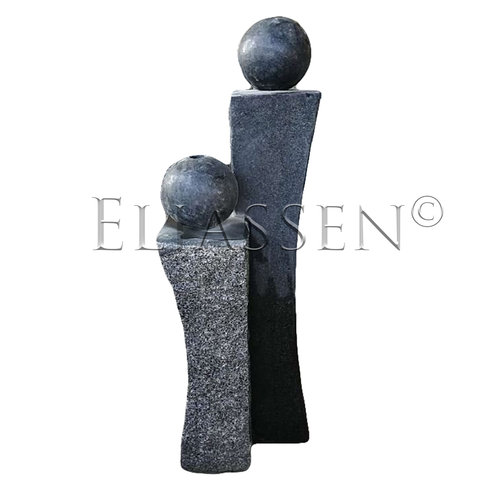 Eliassen Water column TwoTone granite 100cm