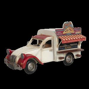 Miniaturmodell Food Truck Pizza