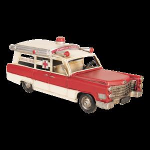 Miniature model Ambulance car