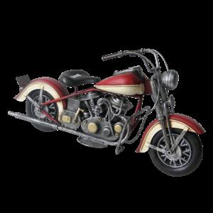 Miniature model Motor red / white