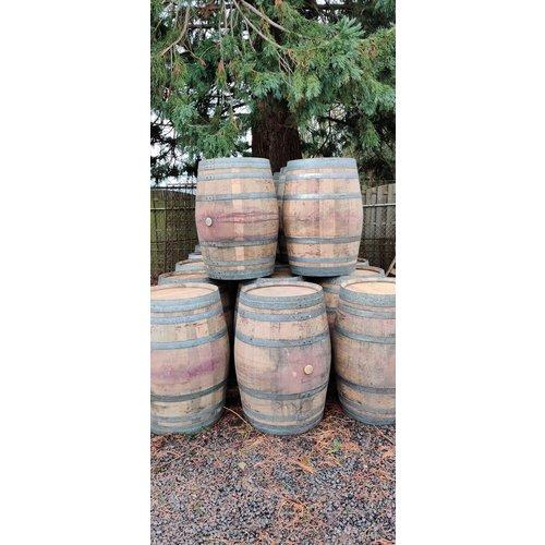 Wine barrel rain barrel 225 liters of French oak