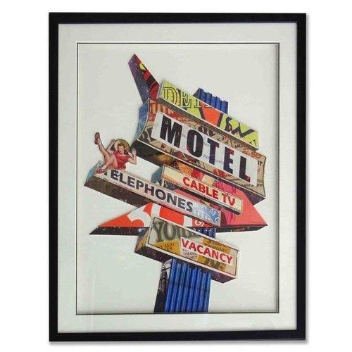 Paper Art Road Sign 72x90 cm.