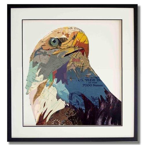 Paper Art Eagle 75x75 cm.