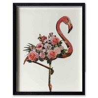 Paper Art Flamingo 64x82 cm.