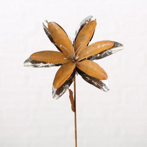 Garden stick open flower 90cm