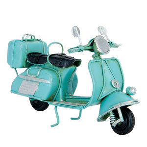 Metal minute scooter blue