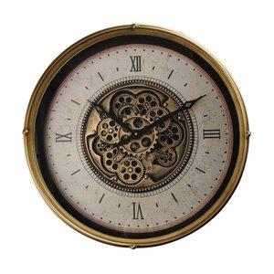 Radar wall clock Gold 60 cm.