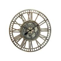 Mega large open wall clock with radar 110 cm.