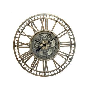 Open radar clock Rusty 90 cm.