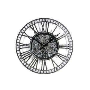 Open radar clock Dark Gray 90 cm.