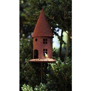 Vogelvoederhuis roest 45cm