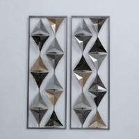 Wanddecoratie Diamond 2 luik