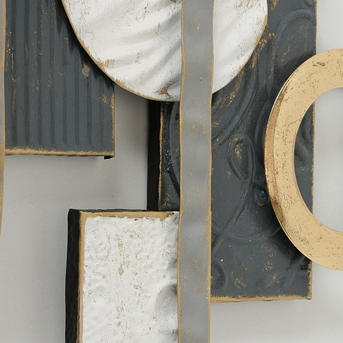 Moderne metalen wanddecoratie Empatia