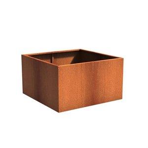 Adezz Producten Pflanzer Corten Stahl Square Andes 140x140x80cm