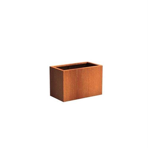 Adezz Producten Plantenbak Cortenstaal Rechthoek Andes 90x50x60cm