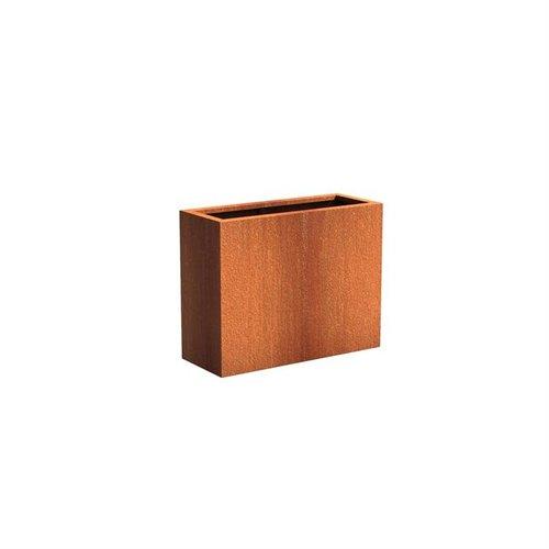 Adezz Producten Plantenbak Cortenstaal Rechthoek Andes 100x40x80cm