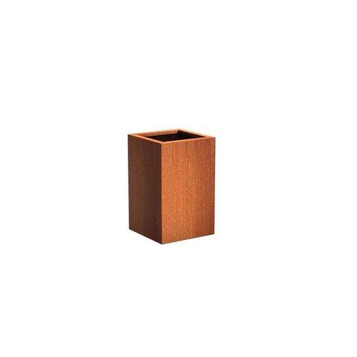 Adezz Producten Plantenbak Cortenstaal Vierkant Andes Zuil 50x50x80cm