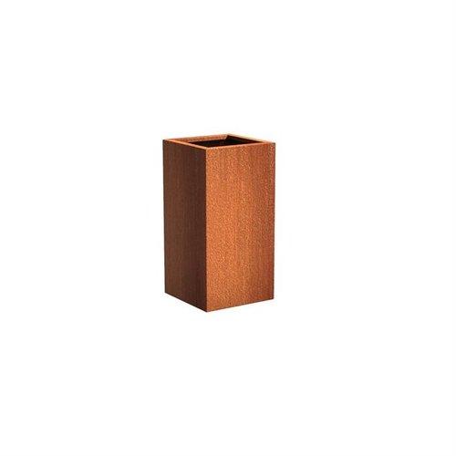 Adezz Producten Plantenbak Cortenstaal Vierkant Andes Zuil 50x50x100cm