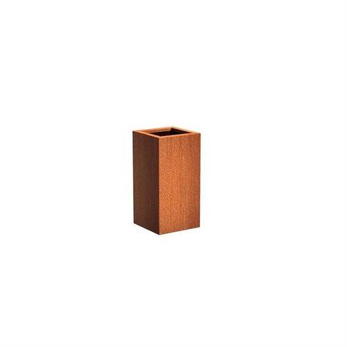 Adezz Producten Plantenbak Cortenstaal Vierkant Andes Zuil 40x40x80cm
