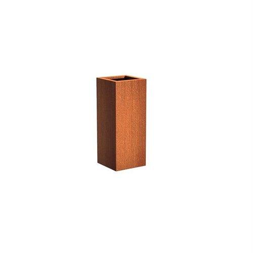Adezz Producten Plantenbak Cortenstaal Vierkant Andes Zuil 40x40x100cm