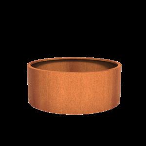 Adezz Producten Planter Corten Steel Round Atlas 150x60