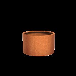 Adezz Producten Planter Corten Steel Round Atlas 100x60