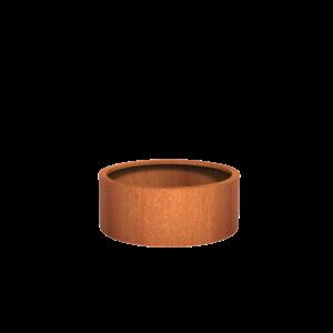 Adezz Producten Planter Corten Steel Round Atlas 100x40