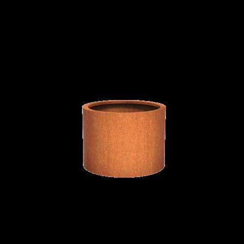Adezz Producten Pflanzer Corten Stahl Rundatlas 80x60