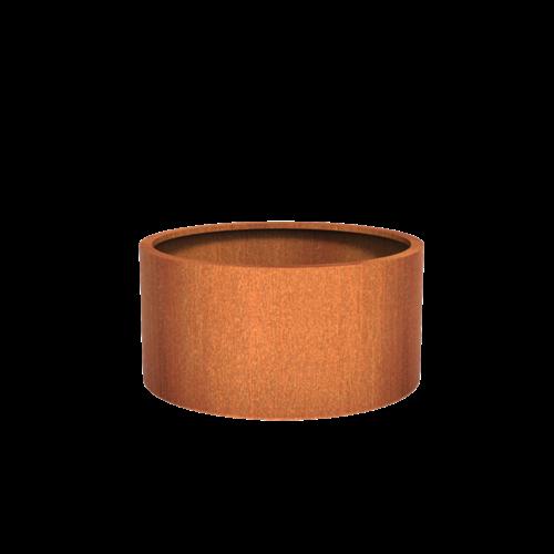 Adezz Producten Pflanzer Corten Stahl Rundatlas 120x60